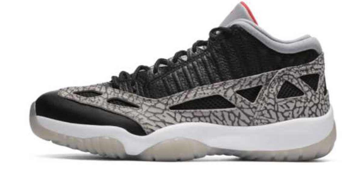 How do you feeling the Air Jordan 11 Retro Low IE Black Cement?