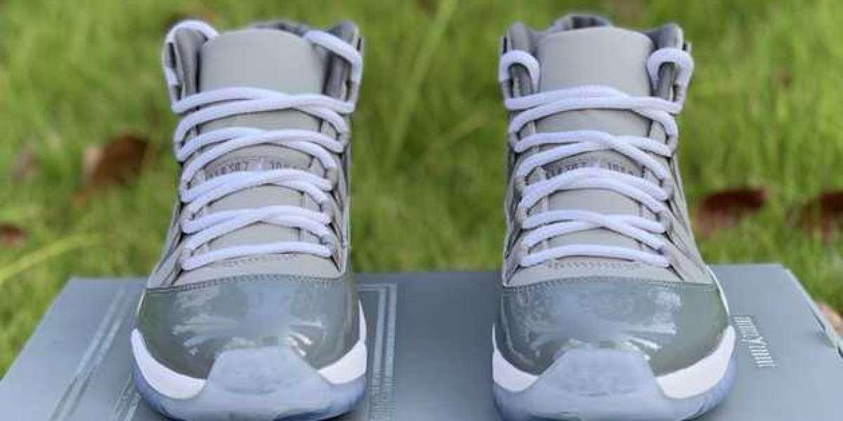 """2020 Air Jordan 11 Retro """"Cool Grey"""" Shoes 378037-001"""