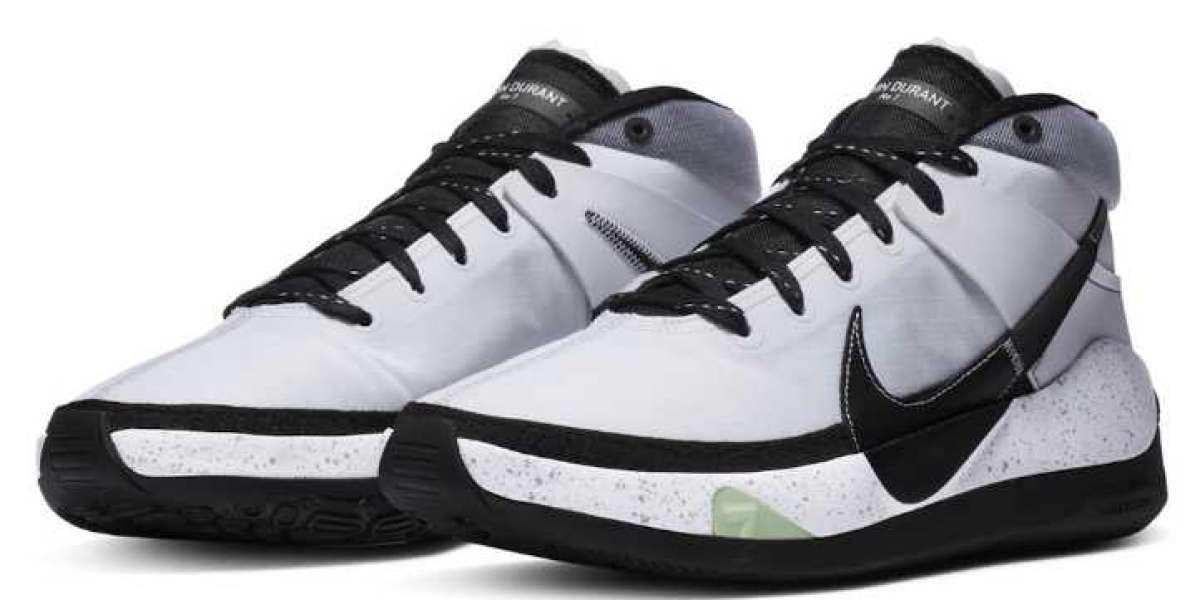 Cool Nike KD 13 Brooklyn Nets White Black Will Release Soon