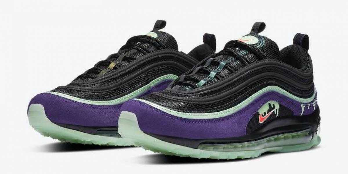DC1500-001 Nike Air Max 97 Slime Will Arrive Early the Halloween