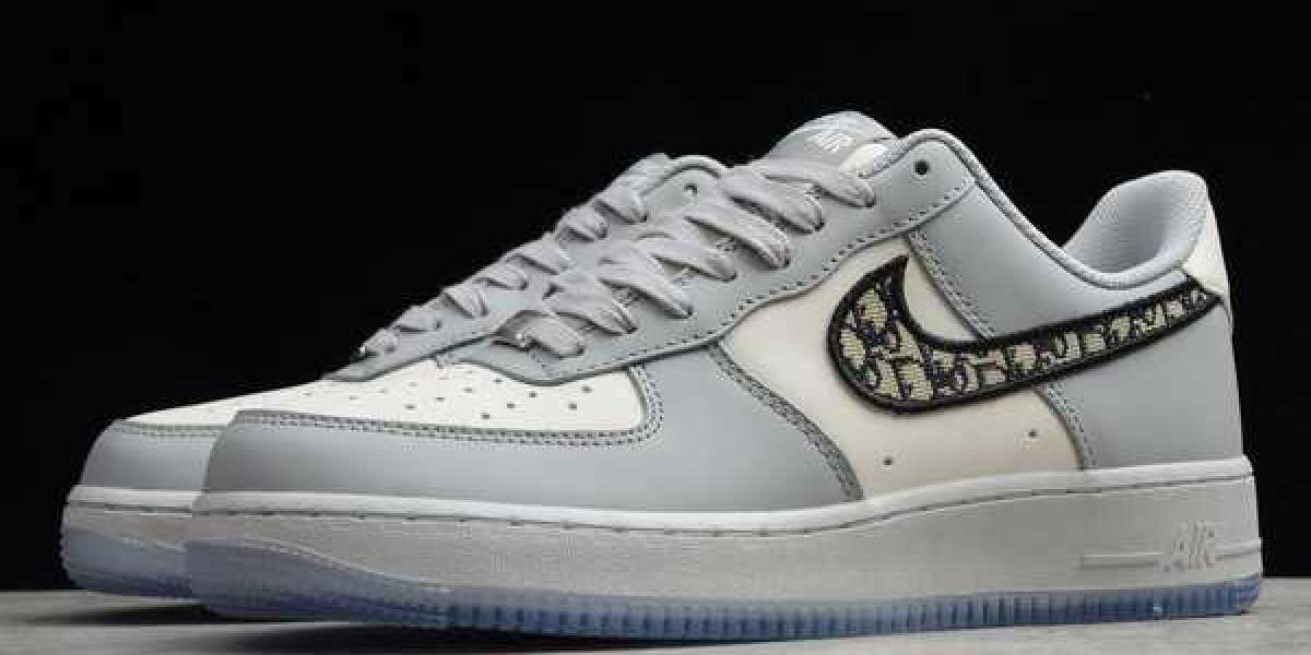 DA1345-014 Air Force 1 Low Olympic Black/Metallic Silver-Chie