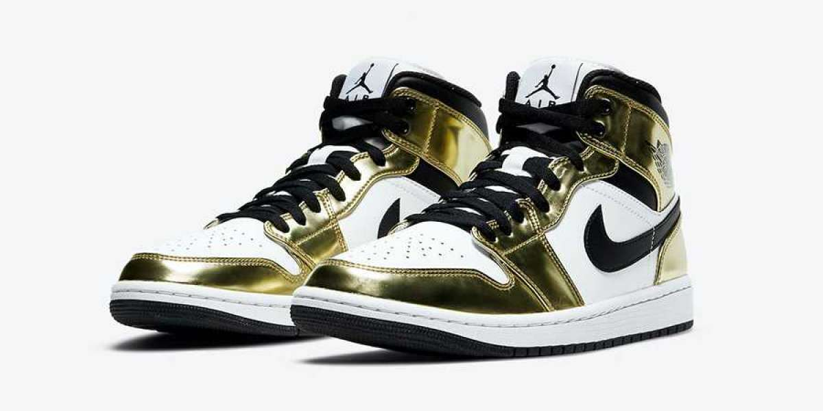 "Aj 1 Mid SE ""Metallic Gold"" DC1419-700 will be released on October 1st"