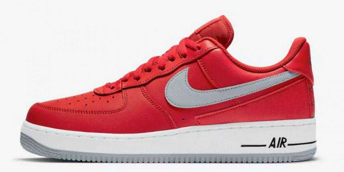 Nike Air Force 1 Low Coming With Ohio State Buckeyes Vibes