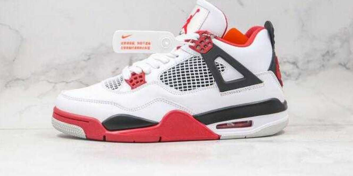 2020 Latest Air Jordan 4 Retro OG Fire Red Online Sale
