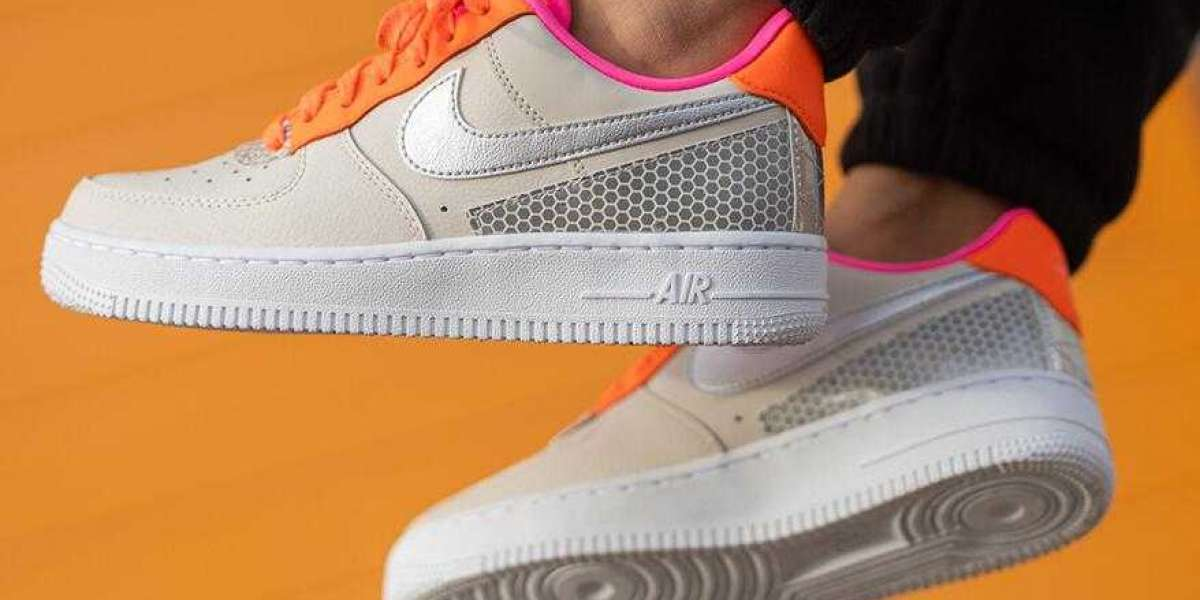 3M x Nike Air Force 1 Low Light Orewood Brown Silver for Sale